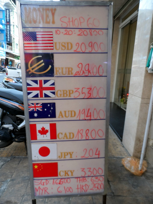 Exchange Rates To Vietnamese Dong May 2017