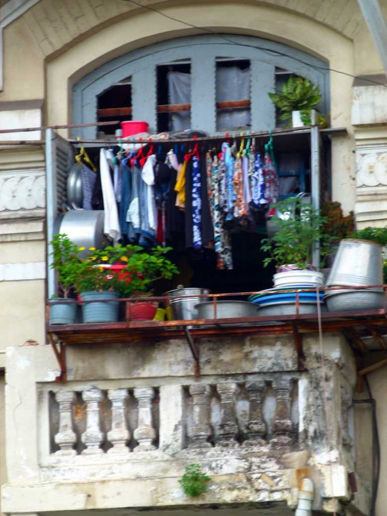 Multi purpose balcony