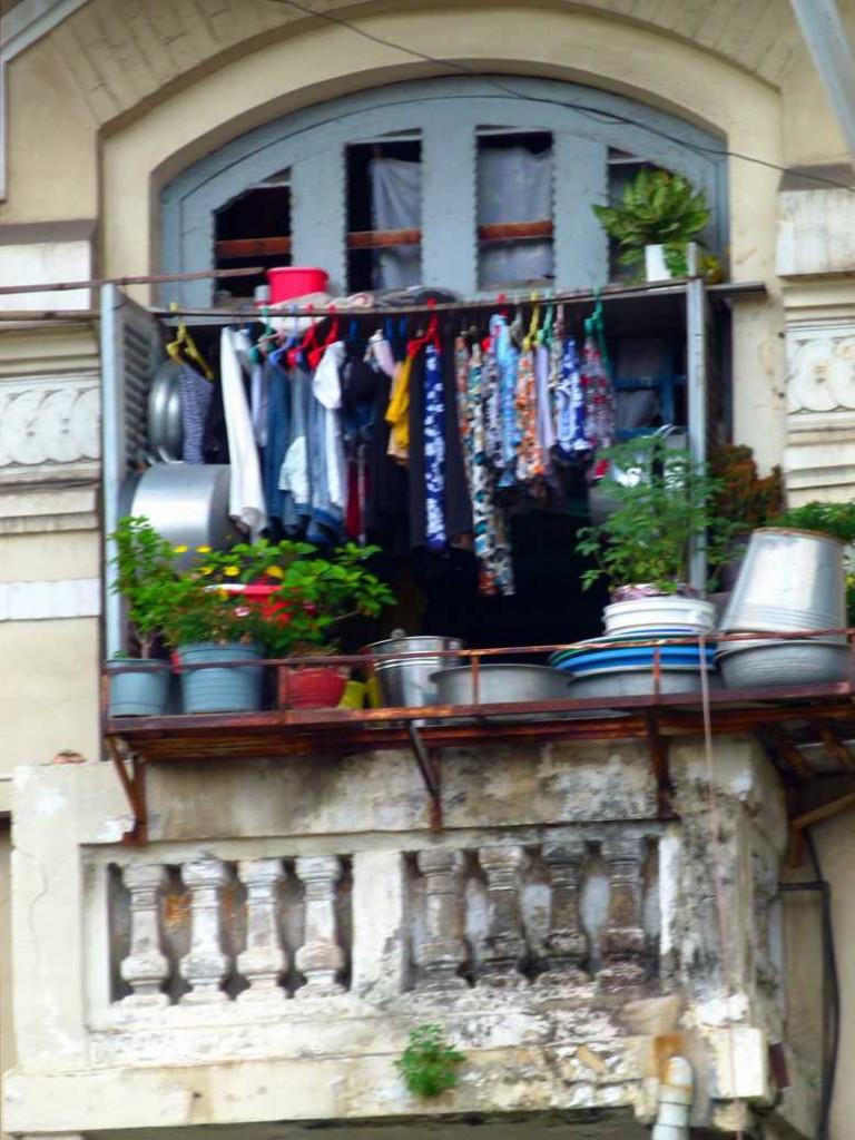 Multi purpose balcony