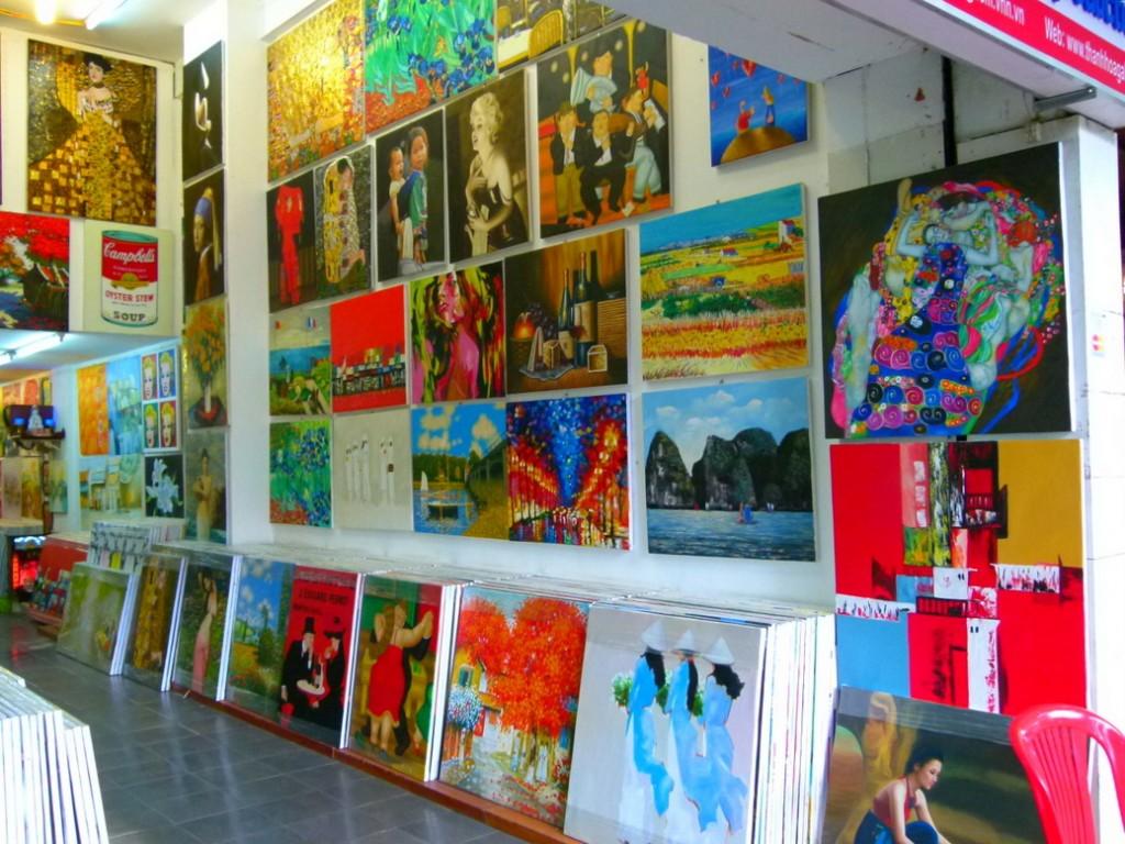 Art shops