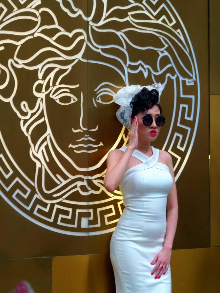 Posing...Miss Saigon?