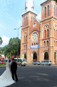 Walking around Ho Chi Minh City