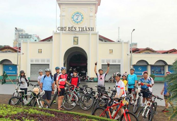 Vietnam Bicycle tours - Meet up point