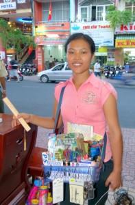 Is Ho Chi Minh City safe? Street Vendors