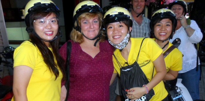 Belles on Bikes - Saigon Food Tour