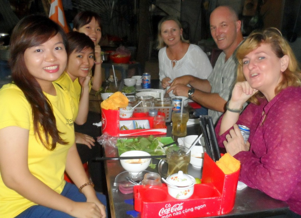 Saigon Food Tour - Banh Xeo