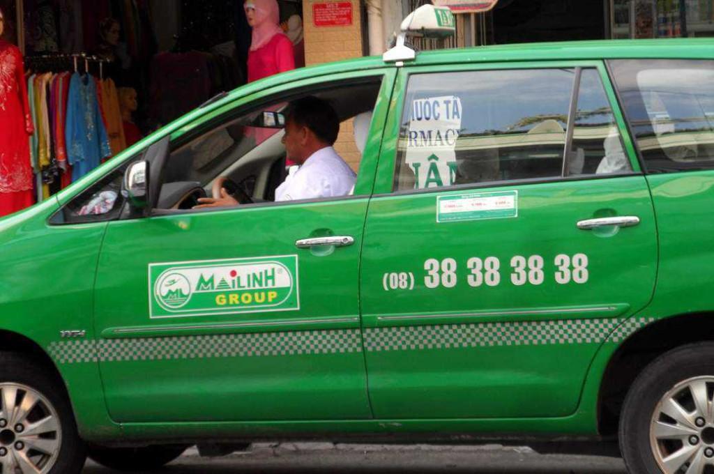 Saigon taxi- Mai Linh Taxi
