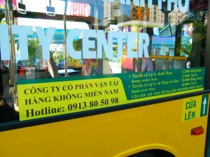 bus to Ho Chi Minh Airport
