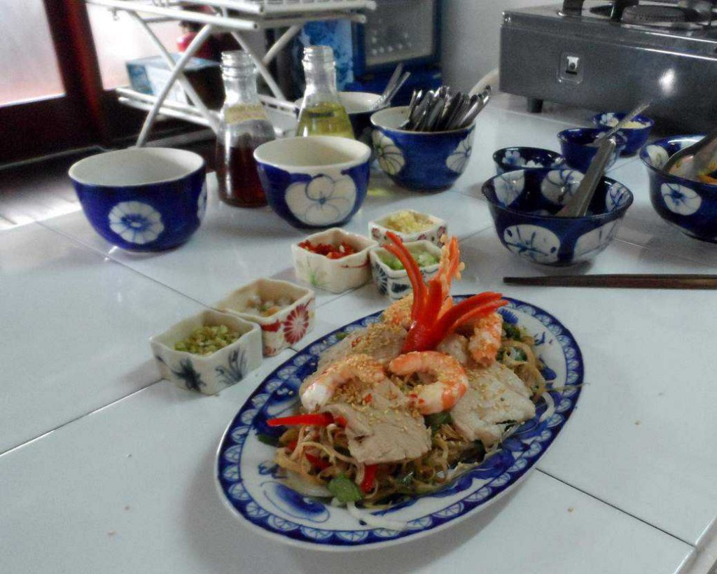 Vietnamese cooking school