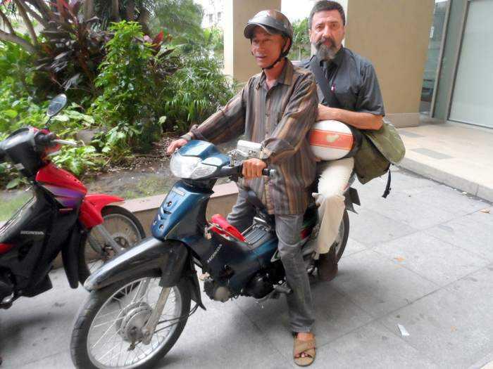 Xe Om Motorbike taxi Saigon