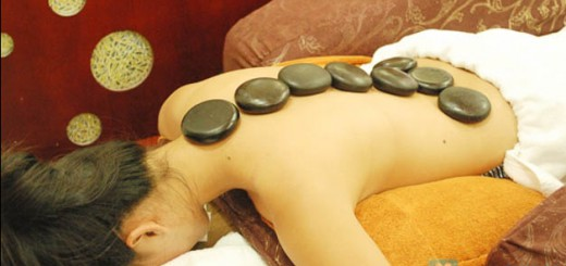 Massage in Saigon - Hot rocks