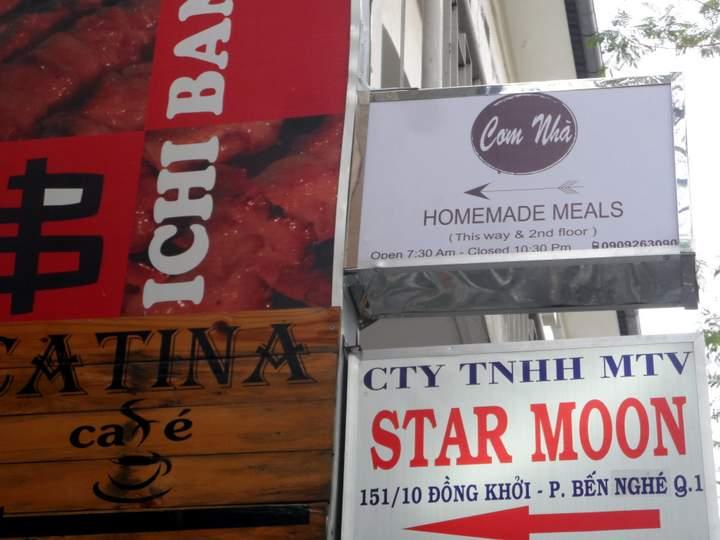 Homemade Food in Saigon