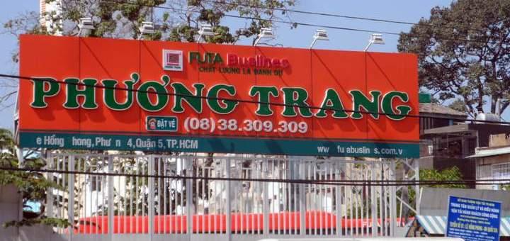 Bus to and from Saigon - Phuong Trang