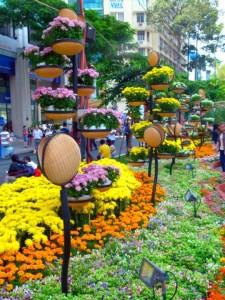 TET-2017-Saigon. Flower Street