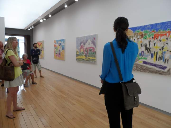 Sophie's Art Tour - Exhibition at Galerie Quynh