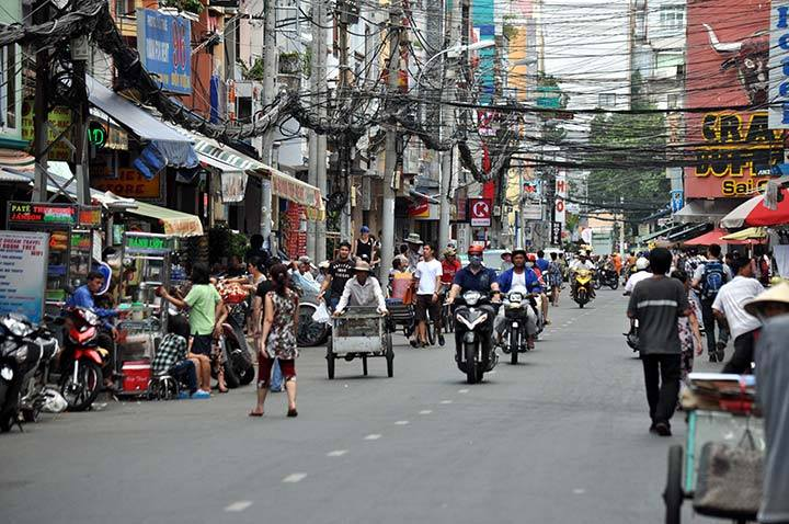 Bui Vien, ho Chi Minh City