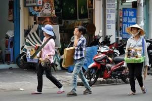 Street life - Ho Chi Minh City. Photo Courtesy of David Lyonz