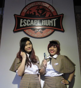 Waiting room. Escape Hunt Experience