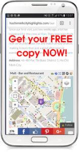 GPSMyCity app - Ho Chi Minh City