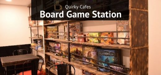 board game station cafe in Saigon