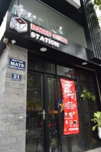 Board Game Station Cafe in District 1