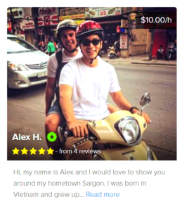 Local guides for Saigon