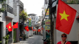 Saigon during TET