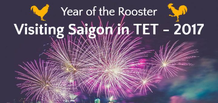 Visiting Saigon in TET - 2017